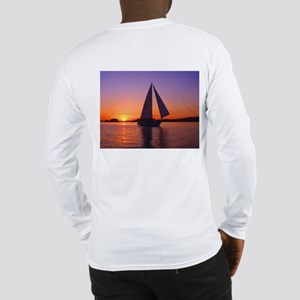 Lake Lanier Sailing Long Sleeve T-Shirt