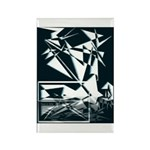 Peace in Unity Collection Rectangle Magnet (10 pac