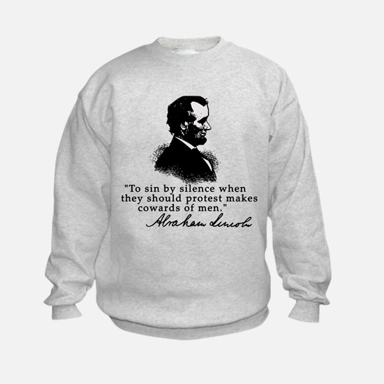 Lincoln to Sin by Silence Sweatshirt