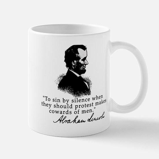 Lincoln to Sin by Silence Mug