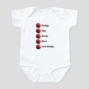 DODGEBALL Infant Bodysuit