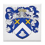 Christiaens Family Crest Tile Coaster