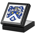 Christiaens Family Crest Keepsake Box
