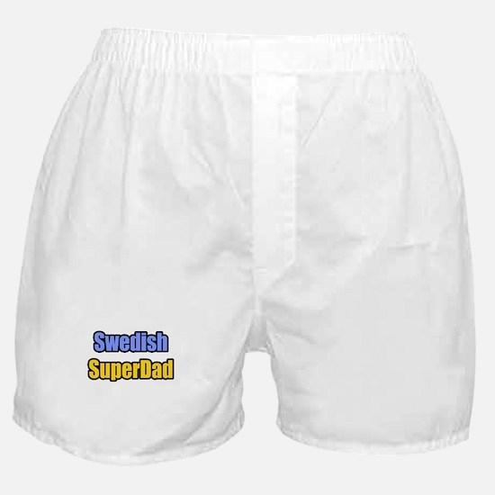 """Swedish SuperDad"" Boxer Shorts"