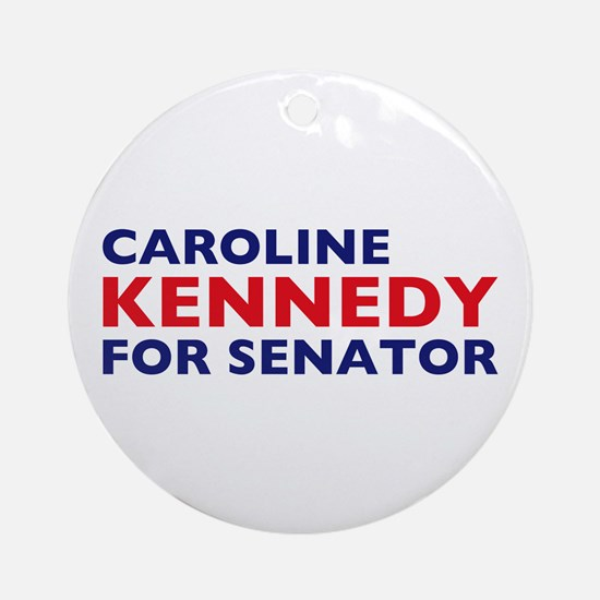 Kennedy for Senator Ornament (Round)