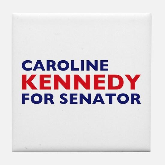 Kennedy for Senator Tile Coaster