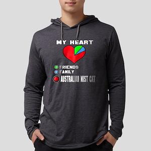 My Heart Friends, Family, austra Mens Hooded Shirt