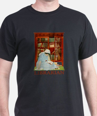LIBRARIAN by Coles Phillips T-Shirt