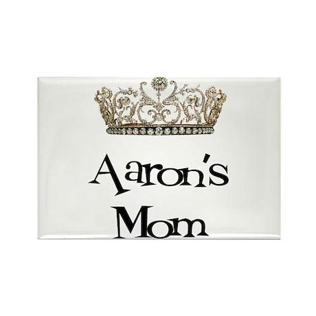 Aaron's Mom Rectangle Magnet