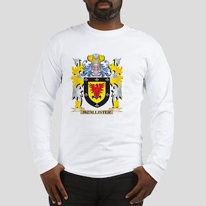Mcallister Coat of Arms - Fami Long Sleeve T-Shirt