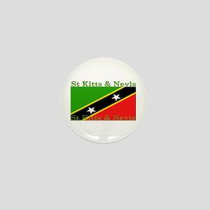 St Kitts & Nevis Mini Button