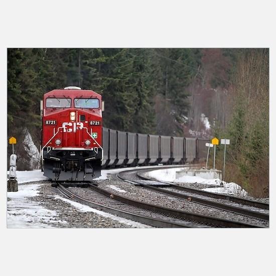 Cool Canadian railway Wall Art