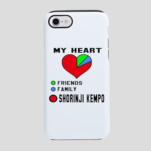 My Heart Friends, Family, Sh iPhone 8/7 Tough Case