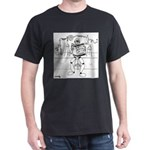 Genetics Cartoon 6902 Dark T-Shirt