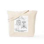 Technology Cartoon 7998 Tote Bag
