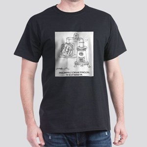 Technology Cartoon 7998 Dark T-Shirt