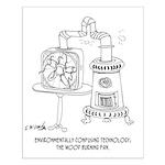 Technology Cartoon 7998 Small Poster