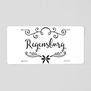 Regensburg Aluminum License Plate