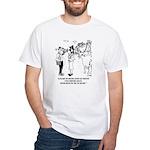 Hurricane Cartoon 7948 White T-Shirt