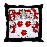 DeGreeff Family Crest Throw Pillow