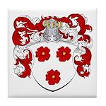 DeGreeff Family Crest Tile Coaster