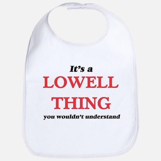 It's a Lowell Massachusetts thing, yo Baby Bib