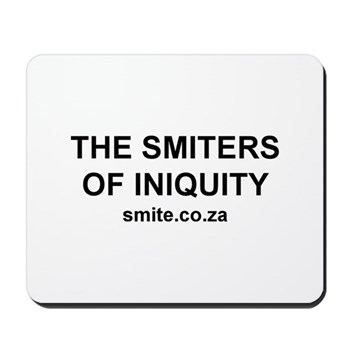 Smiters of Iniquity Mousepad