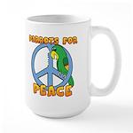 Parrots for Peace Large Mug