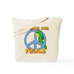 Parrots for Peace Tote Bag