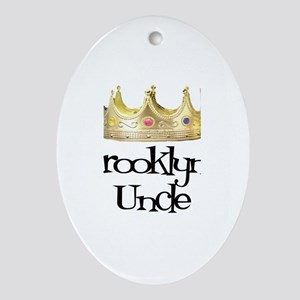 Brooklyn's Uncle Oval Ornament