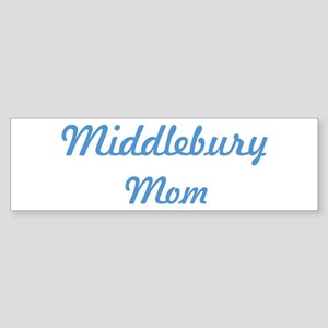 Middlebury mom Bumper Sticker