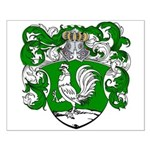 DeHaan Family Crest Small Poster