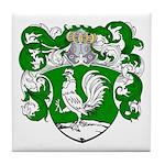 DeHaan Family Crest Tile Coaster