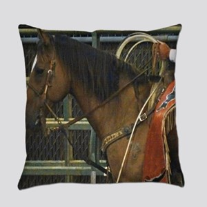 Rodeo Horse Everyday Pillow