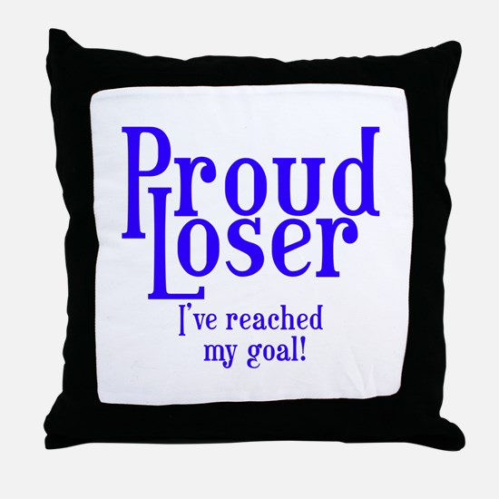 Reached my goal! Throw Pillow