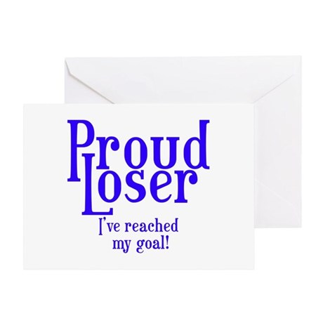 Reached my goal! Greeting Card