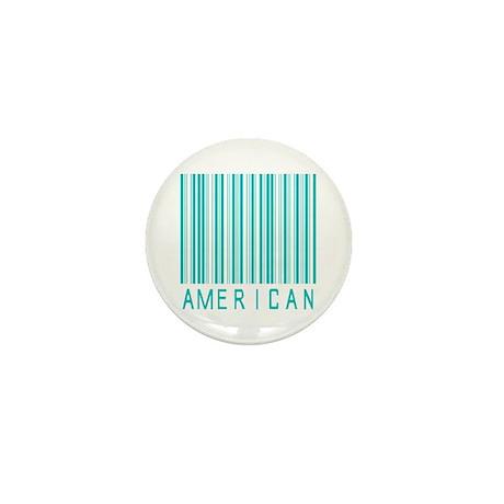 American Mini Button
