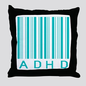 ADHD Throw Pillow