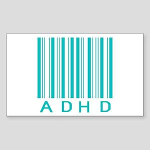 ADHD Rectangle Sticker