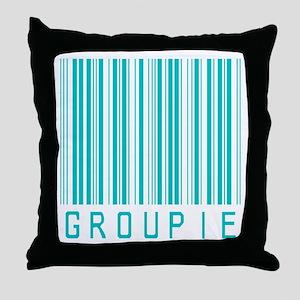 Groupie Throw Pillow