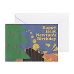 Isaac Newton Birthday Cards (Pk of 10)