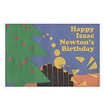 Isaac Newton's Birthday Postcards (8)