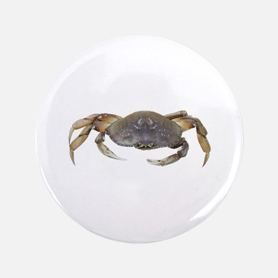 "Dungeness Crab 3.5"" Button"