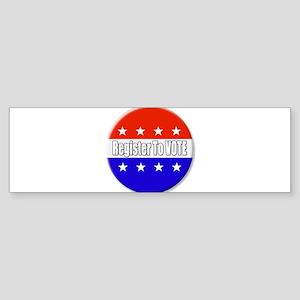 Register To Vote Bumper Sticker