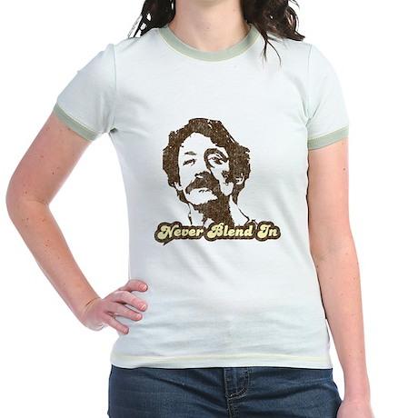 Harvey Milk:Never Blend In Jr. Ringer T-Shirt