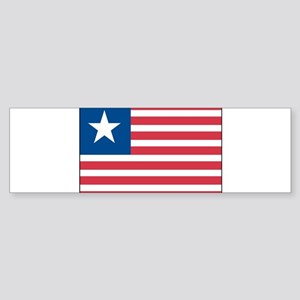 Lone Star Flag Bumper Sticker