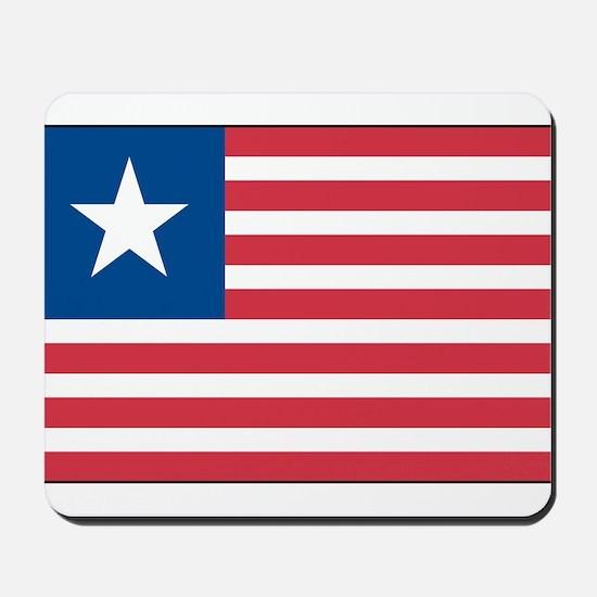 Lone Star Flag Mousepad