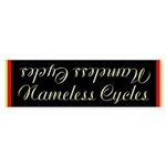 Nameless cycles Bumper Sticker
