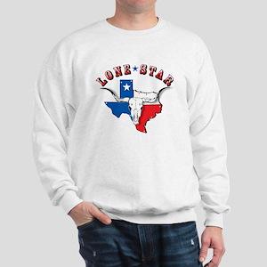 Lone Star Skull Sweatshirt