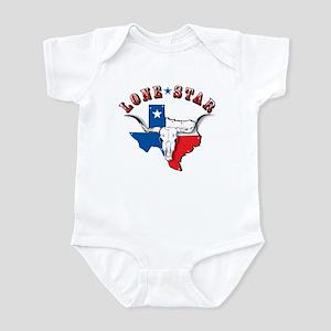 Lone Star Skull Infant Bodysuit